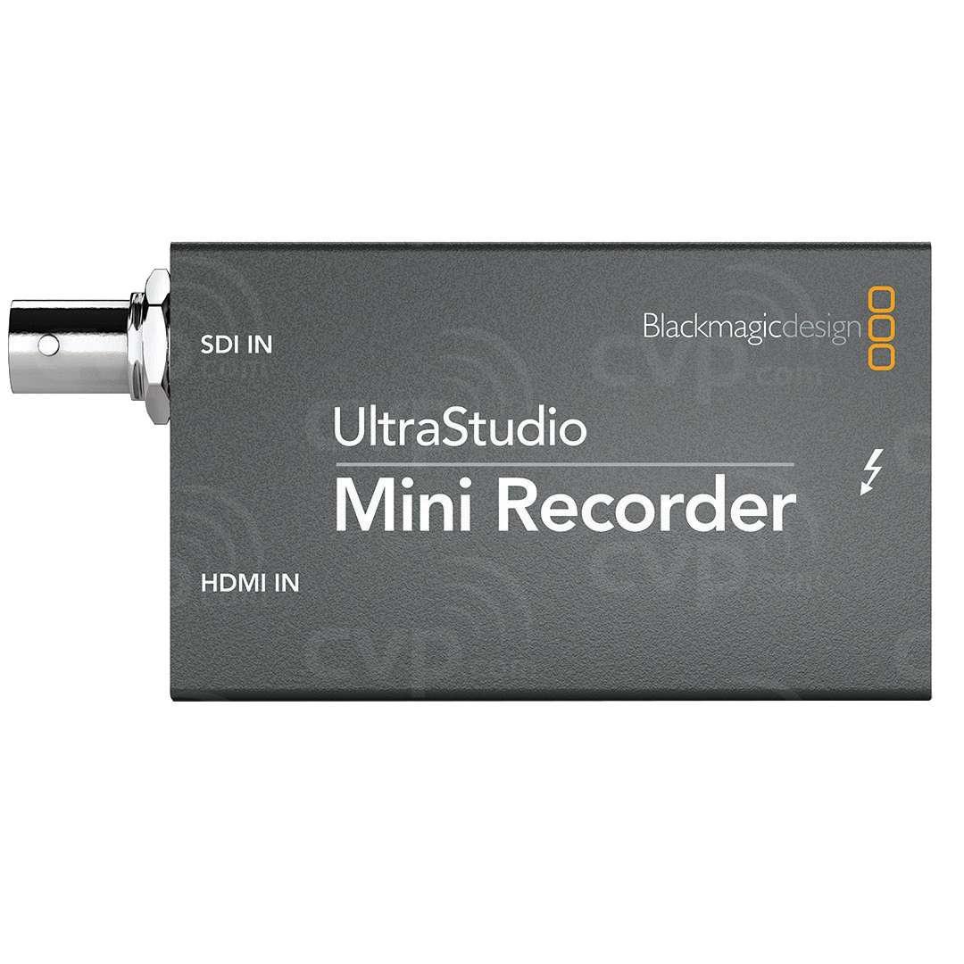 Buy Open Box Blackmagic Design Ultrastudio Mini Recorder Ultra Small Pocket Sized Thunderbolt Powered Recording From Sdi And Hdmi Bmd Bdlkulsdzminrec