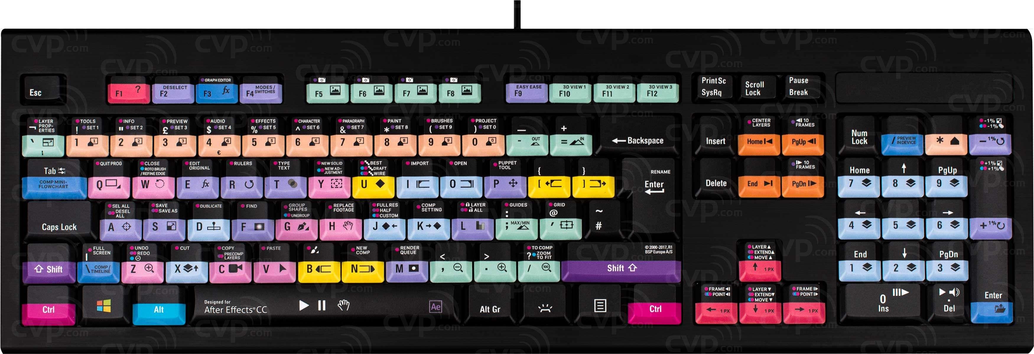85138242a6c Buy - Logic Keyboard After Effects CC - PC Backlit Astra Keyboard (p/n  LKB-AECC-APBH-UK)