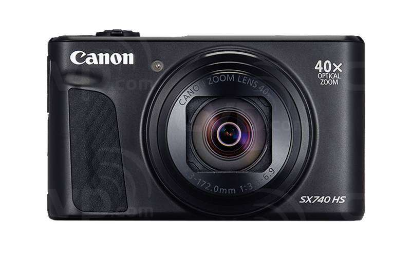 Buy Canon Powershot Sx740 Hs 20 3 Mp Pocket Sized Digital Compact Camera With 40x Optical Zoom Black P N 2955c011