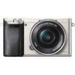 Sony Alpha a6000 24.3MP Digital Camera with 16-50mm f3.5-5.6 Power Zoom Lens (Silver) (p/n ILCE6000LS.CEC)