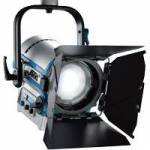 ARRI L0.0001987 (L00001987) LED L5-DT Fresnel Bi-Colour Pole Operated Light - Blue/Silver (Bare Ends powerCON)