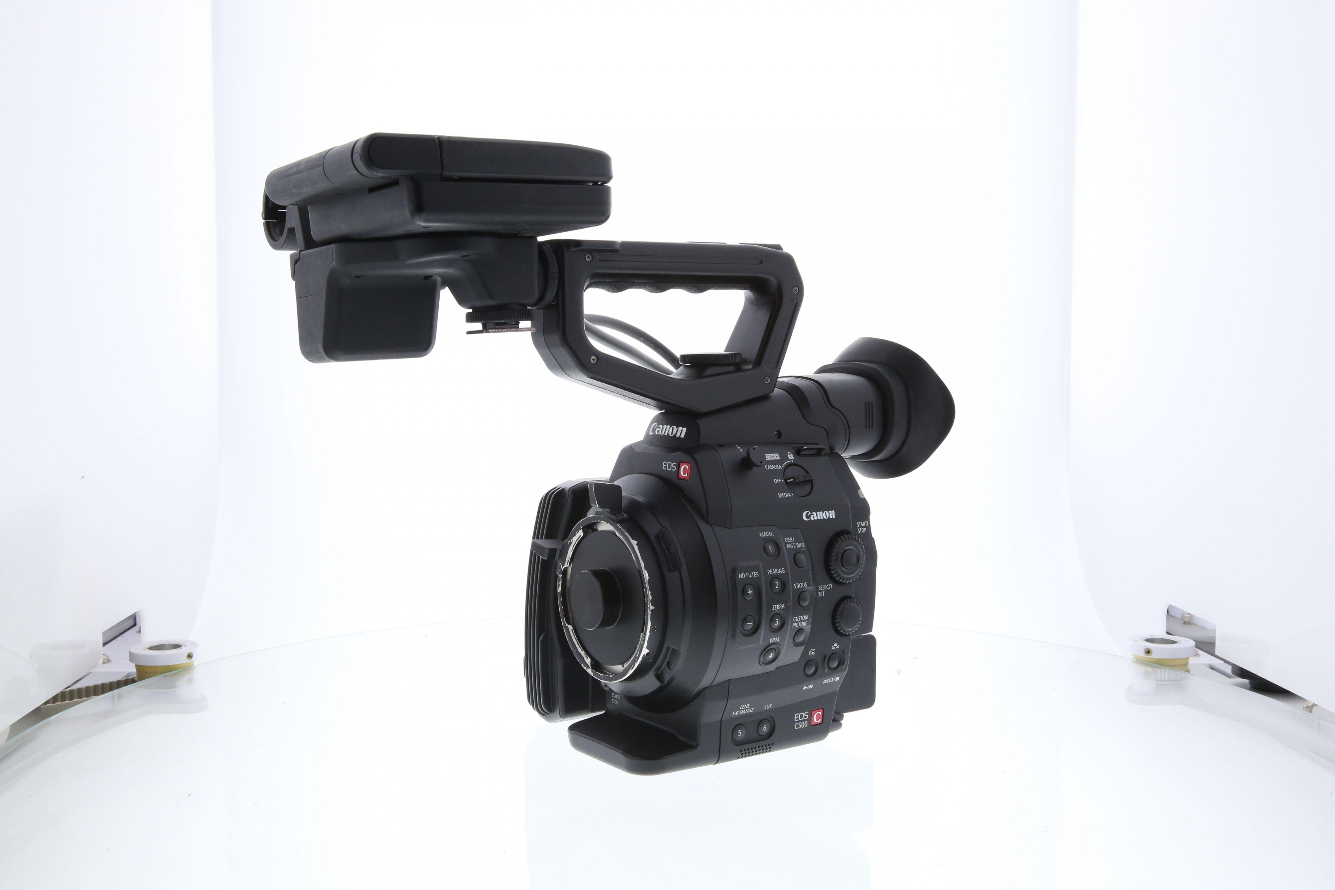 Used Canon Cinema EOS C500 4K PL