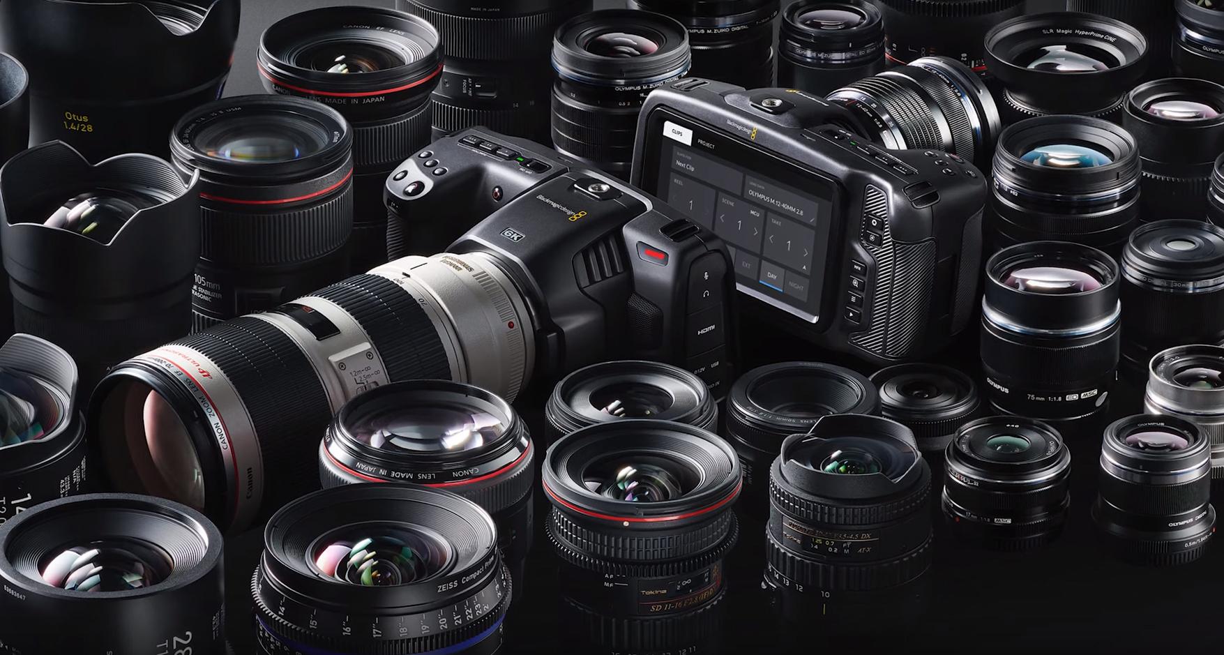 Buy Blackmagic Design Pocket 6k Cinema Camera 6k Body Only Ef Mount Super 35 Size 6144 X 3456 Image Sensor