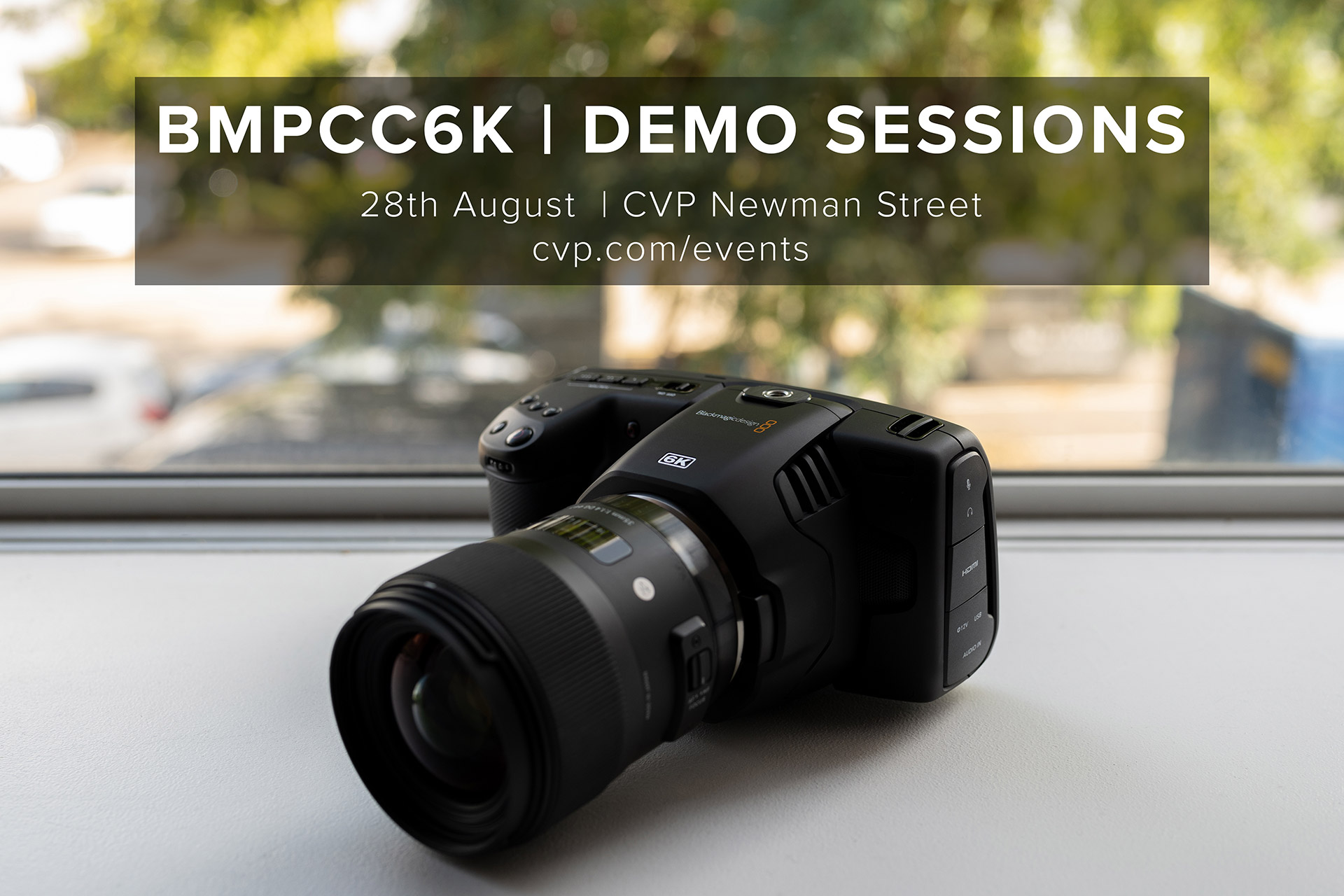 Cvp Com Blackmagic Pocket Cinema Camera 6k Demo Sessions Are You Interested In The Recently Released Blackmagic Pocket Cinema Camera 6k If Yes Join Us For An Hour Long Demo And