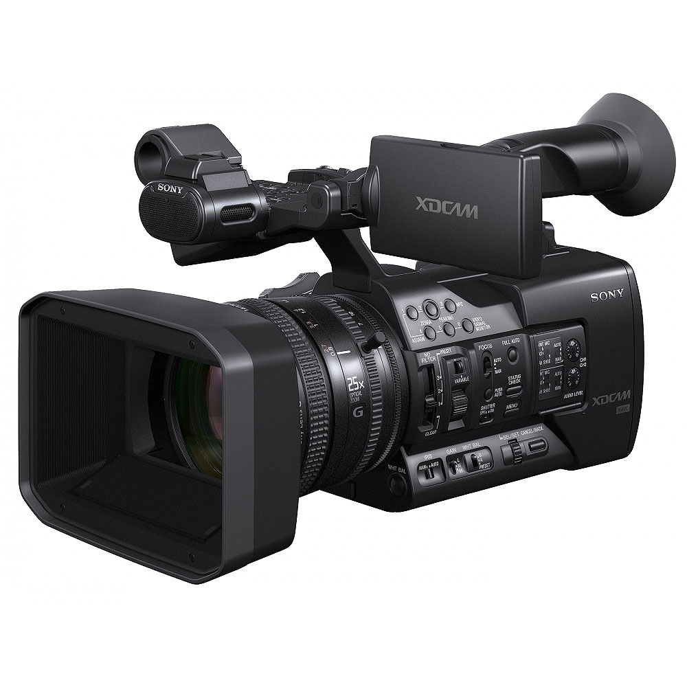 buy sony pxw x500 pxwx500 xdcam shoulder mount camcorder with three 2 3 inch hyperhad fx. Black Bedroom Furniture Sets. Home Design Ideas
